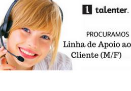 Linha de Apoio ao Cliente (M/F) Lisboa