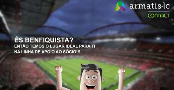 Linha de apoio ao Sócio do Sport Lisboa e Benfica (M/F)